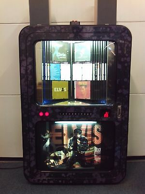 Sound Leisure 'Concept' Jukebox Elvis theme 30 CD, Excellent Serviced Wall mount