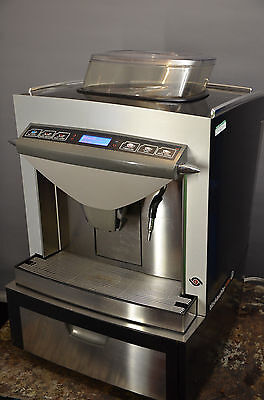 REFURBISHED! Thermoplan TIGER  coffee machine automatic bean to cup black white
