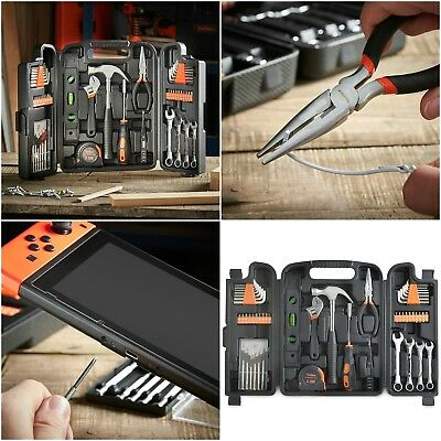 Complete Tool Kit Set Hand Electronic Box Chest Screwdriver 39 Piece Small