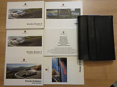 Porsche Boxster/Boxster S Owners Handbook/Manual and Pack 12-14