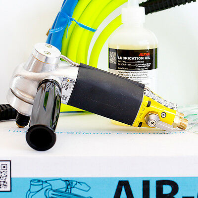 Alpha AIR-680 NEW Ultimate Pneumatic Polisher  Granite Concrete Stone Air Water