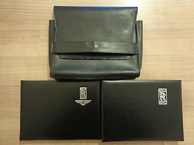 Rolls Royce Corniche Owners Handbook/Manual and Wallet