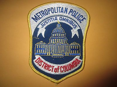Collectible Washington D.C. Police Patch New