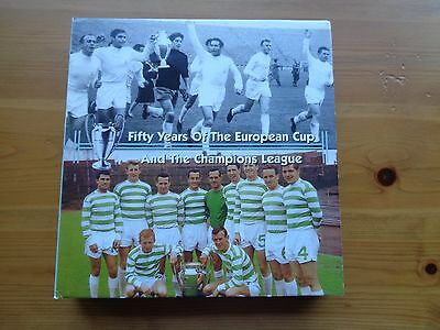 50 Years of The European Cup and The Champions League Book signed by 8 winners