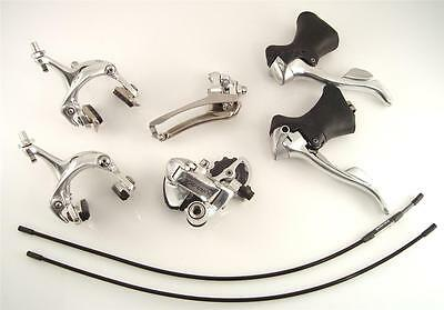 Shimano Dura Ace 7700 9 Speed GROUP Groupset Brakes Derailleur - no crank