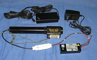 Melles Griot 05-STP-910 or -912 Stabilized HeNe Laser with New Tube / Warranty