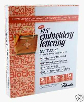 Brother ELS Embroidery Lettering Software ELS1 NEW