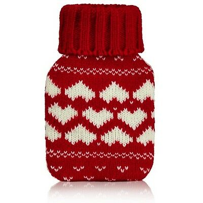 Hand Warmer - Red Heart Fair Isle Handwarmer. Reusable hand warmer