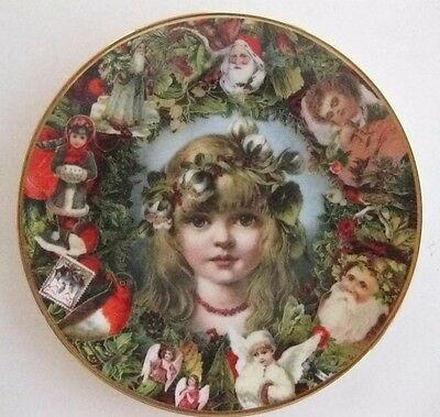 "Hamilton Collection ""Christmas Innocence"" 8"" Collector Plate With COA Mint!"