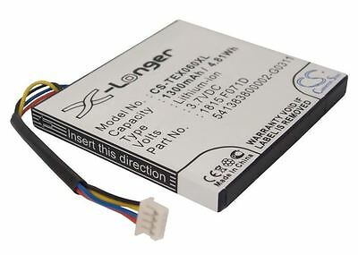 Replaces Battery For Texas Instruments TI-Nspire CX CAS RoHS 1300mAh