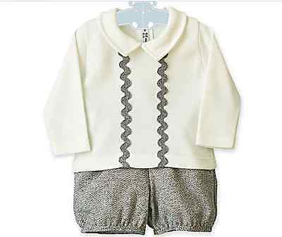 Beautiful Spanish designed baby boys two piece boxed ideal Christmas gift