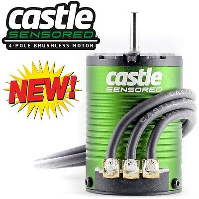 Castle Creations 060-0057-00 Motor 4-Pole Sensored BL 1406-5700KV
