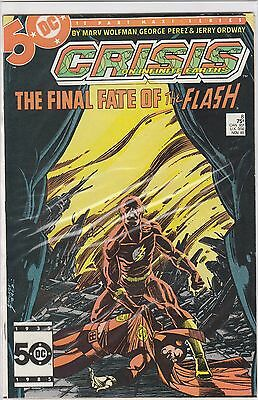 Crisis on Infinite Earths #8 DC Comics 1985, Death of Flash, Barry Allen - VF/NM