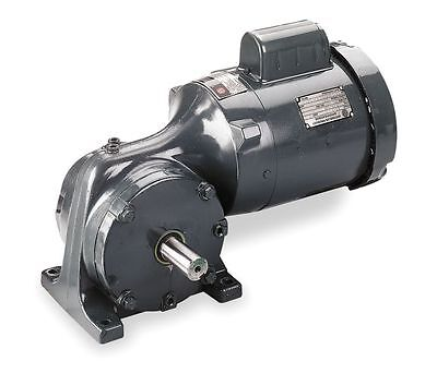 1/2 Hp Ac Gear Motor 58:1 Gear Ratio Right Angle Tefc 5K539 4Cvz3 Gearmotor