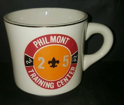Vtg BSA 2-5 P2 Philmont Training Center Boy Scout Coffee Cup