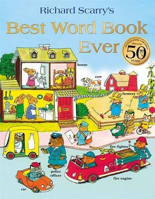 NEW Best Word Book Ever By Richard Scarry Paperback Free Shipping