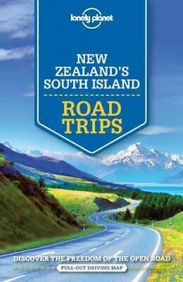 NEW New Zealand's South Island Road Trips By Lonely Planet Travel Guide Paperbac