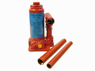 Pro User 2 Ton Car Lifting Inspection Hydraulic Bottle Jack Tyre Wheel Changing