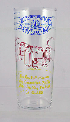 Vintage Measuring Glass Cup ~ Libbey ~ It Tastes Better in a Glass Container