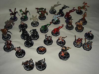 "Mage Knight ""Sorcery"" - Set of 31 Figures (no duplicates) - Miniature D&D"