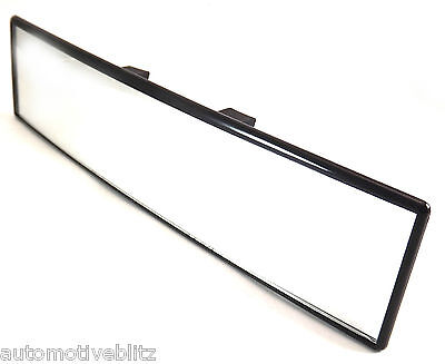 300mm x 73mm Convex Wide Angle Car Rear View Interior Mirror - Pickup Only