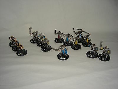 """Mage Knight """"Rebellion"""" - Set of 13 from Knights Immortal - Miniature D&D"""