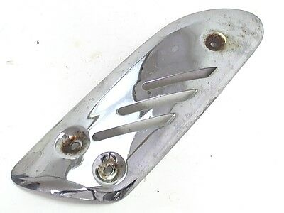 Adly Exhaust Muffler Protector Heat Shield 2003 Silver Fox 50 Scooter Moped