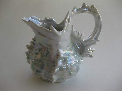 Royal Bayreuth Iridescent Spike Shell Creamer 1880's