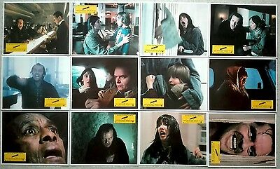 1980 THE SHINING Stanley Kubrick Jack Nicholson cult HORROR stills lobby cards