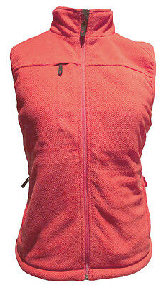 Gyde Thermite Womens Heated Fleece Vest 7v by Gerbing Coral SM