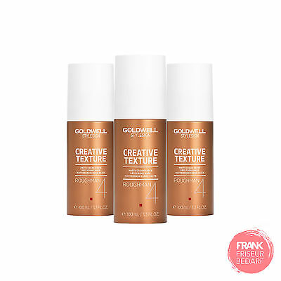 3x Goldwell StyleSign Roughman Mattierende Crème Paste 100ml