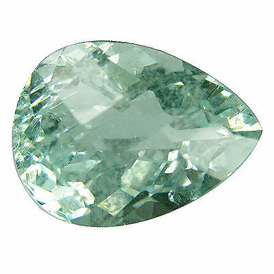 14.35 Ct Huge Top Most Beautiful 100% Natural Unheated Untreated Aquamarine  Gem