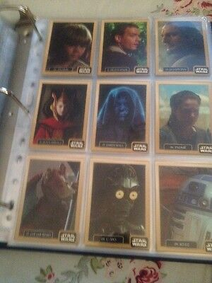 Star Wars 30 Card Trading Set Of Phantom Menace