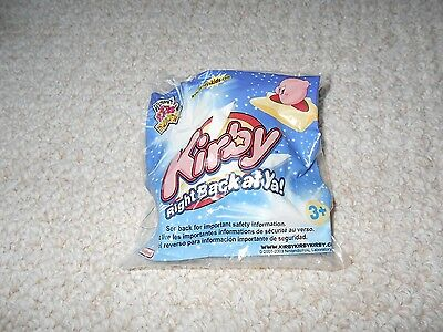 Wendys Sealed Unopened New Kirby Right Back At Ya Blue Toy Pins