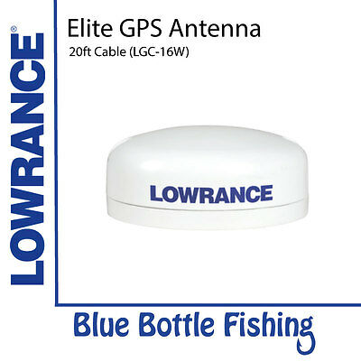 Lowrance Elite GPS antenna with 20ft cable - LGC-16W