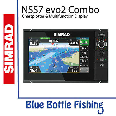 SIMRAD NSS7 evo2 Combo Multifunction Display
