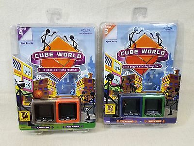 Radica Cube World Series 3 AND Series 4 - (2) brand new, factory sealed 2-packs!