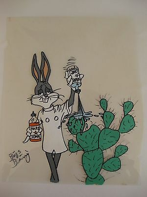Bugs Bunny Hand-Painted Animation Cel?