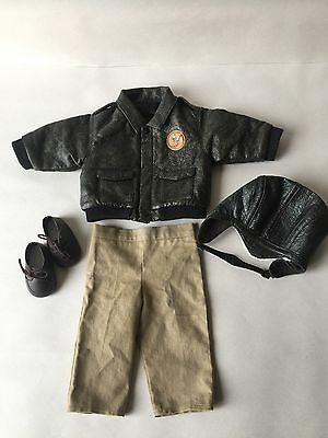 American Girl Molly's Aviator Outfit Shoes HTF Rare