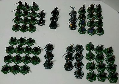 Lord of the Rings Combat Hex Lot of 68 Figures