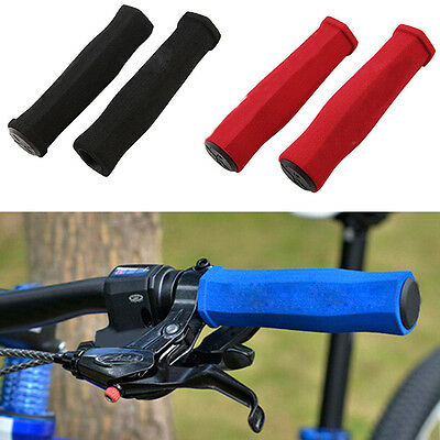 2pcs Bike Propalm Sponge Soft Anti-Skid Grips Set Folding Bicycle Handlebar Set