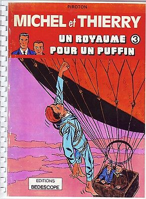 Great Britain RARE Complete edition of the Spirou comic Lundy Island Adventure