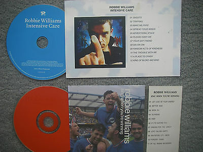 Robbie Williams  2 x Jukebox CDs for NSM Jukeboxes + matching Title Cards