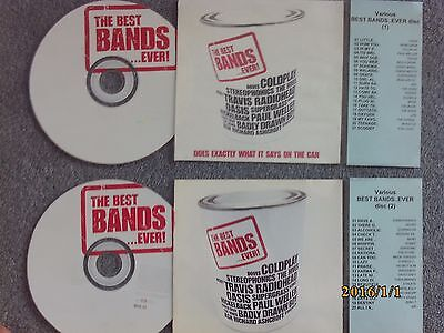 Best Bands EVER  2 x Jukebox CDs for NSM Jukeboxes + matching Title Cards