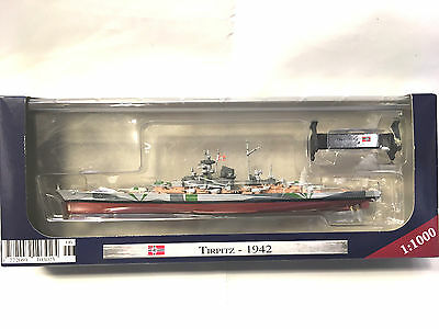 """Ships of War Collection  Partwork Issue #No. 6- """"TIRPITZ"""" 1942"""