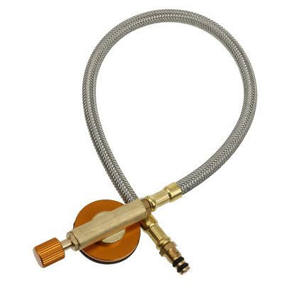 Universal Gas Stove Adapter Hose Connector Regulator for Outdoor Camping