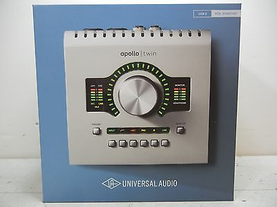 Universal Audio Apollo Twin Duo Uad-2 Real Time Usb 3 Interface Seald Brand New!