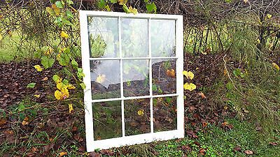 Vintage Sash Antique Wood Window Picture Frame Pinterest 9 Pane No Glass