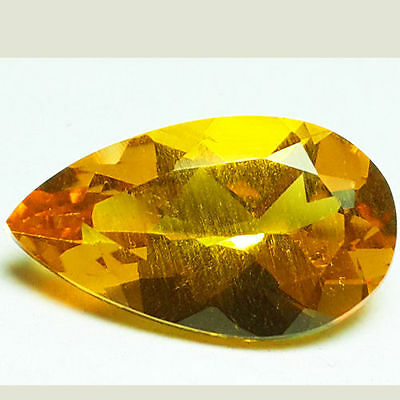 3.60 Ct Dazzling 100% Natural Earth Mined Aaa+ Golden Yellow Beryl Loose Gem