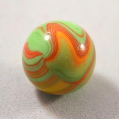 "Rare Cac Christensen Agate Electric Striped Opaque Marble 5/8"" Wicked Cool"